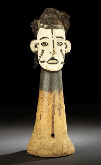 1321: Ibo Tribe Ekeleke Headdress, Nigeria