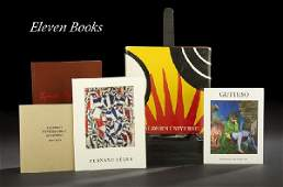 1370 11 BooksCatalogues on Modern  Contemporary Art