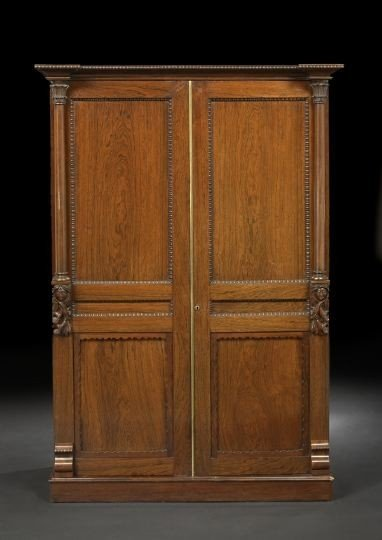 11: Victorian Rosewood Cabinet