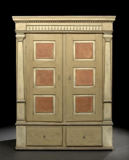 7: Northern European Polychromed Armoire