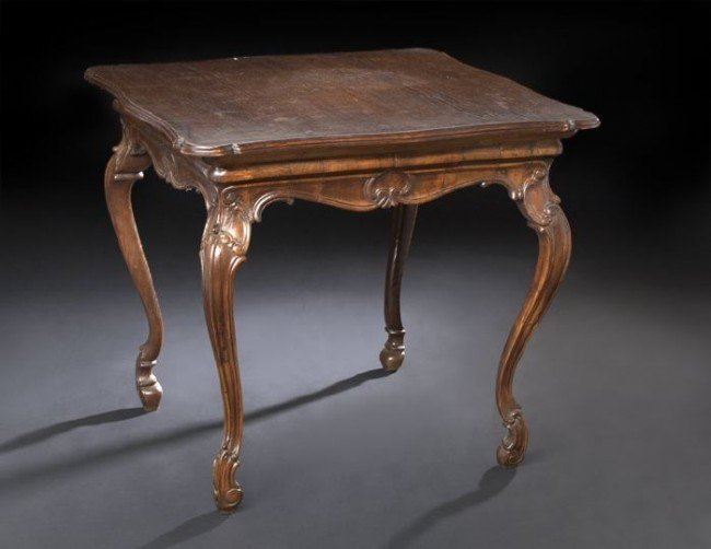 11: Provincial Louis XV-Style Center Table