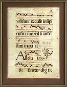 555 A SixteenthCentury Antiphonal Page