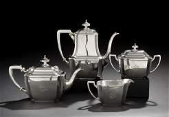 623 4Piece Tiffany  Co Hampton Sterling  Tea Set