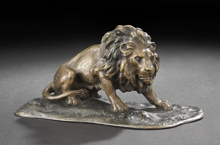 3: Continental Bronze Figure of a Lion