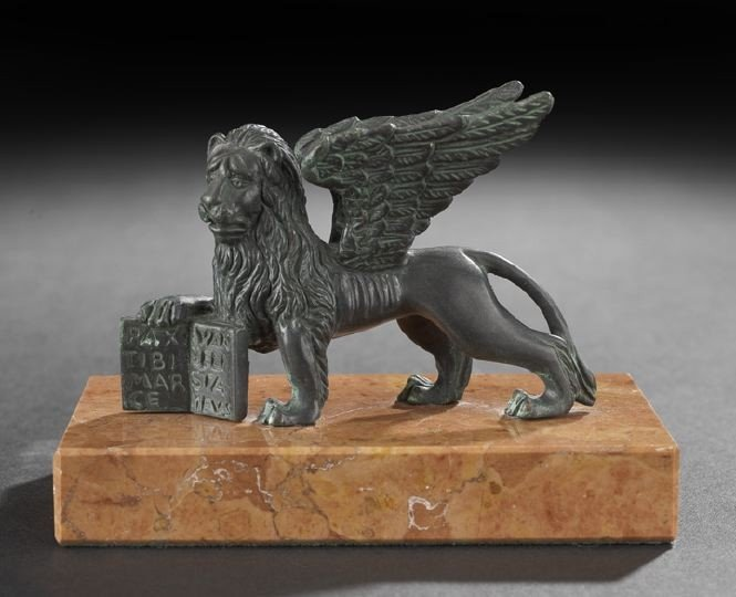 6: Bronze Winged Lion of St. Mark's Square