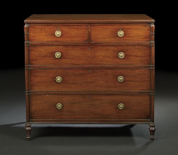 23: Regency Mahogany Chest