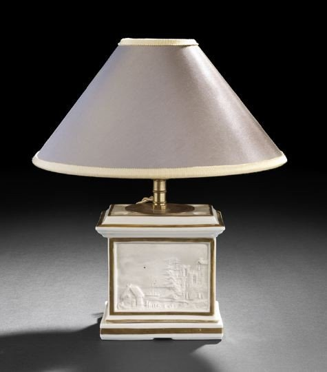 24: Paris Porcelain Lithophane Veilleuse Base