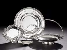 1250: Four American Sterling Silver Serving Dishes