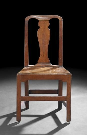 2: George III Oak Sidechair,