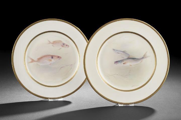 6: Pair of Royal Doulton Cabinet Plates,