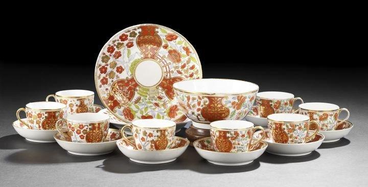 21: Partial English Coalport Tea Set,