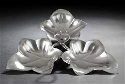 944: Tiffany & Co. Sterling Silver Sweetmeat Dish,