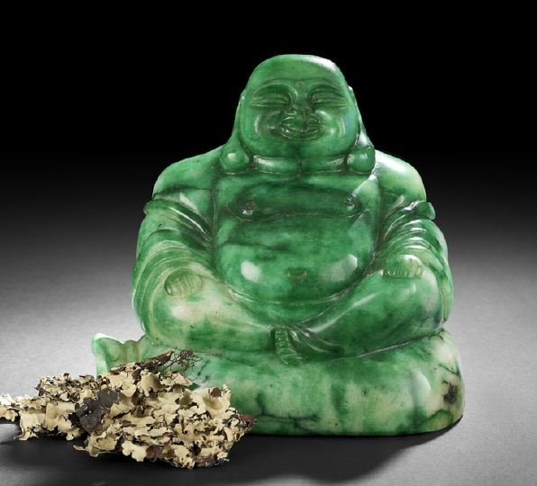 24: Chinese Carved Jade Figure of the Laughing Buddha