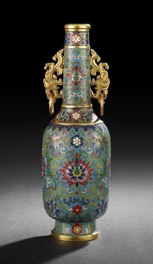 244: Excellent Chinese Cloisonne Vase