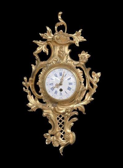 412: Louis XV-Style Wall Clock