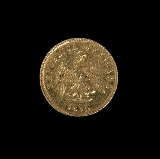 1220: Mexican One Peso Gold Coin