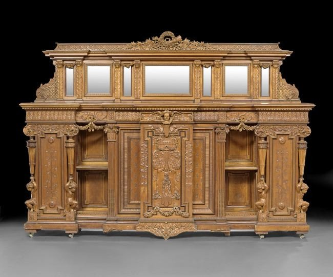 1568: Important American Aesthetic Movement Cabinet