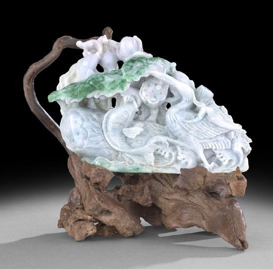2: Good Chinese Carved Jade Group