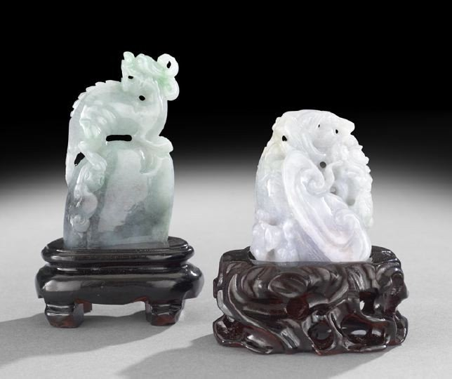 23: Two Pieces of Chinese Carved Jade
