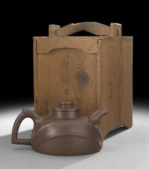 112: Fine & Rare Yixing Teapot by Chen Mingyuan - 4