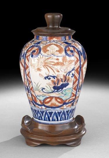 518: Japanese Export Imari Porcelain Vase