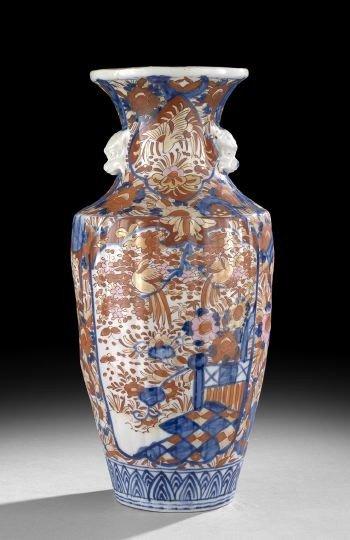 519: Large Japanese Imari Vase