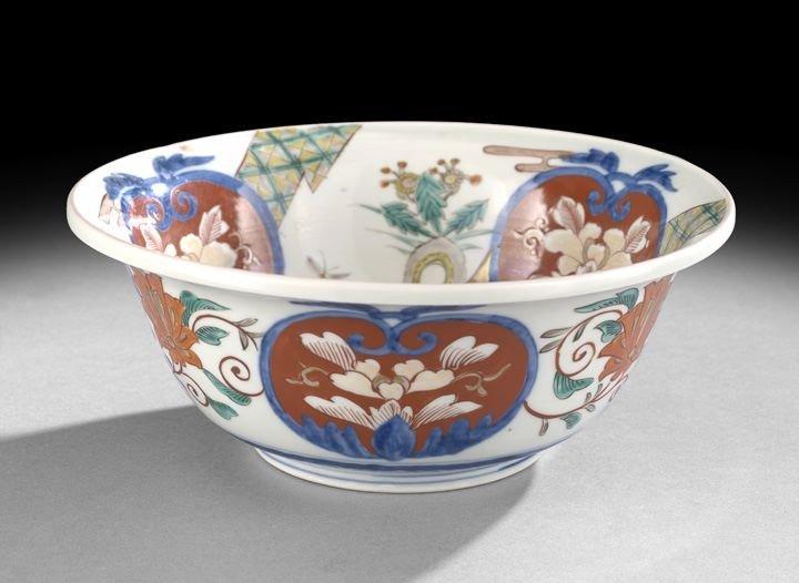 528: Japanese Imari Bowl
