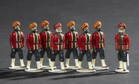 Luhiana Sikh Infantry Vintage Lead Toy Soldiers