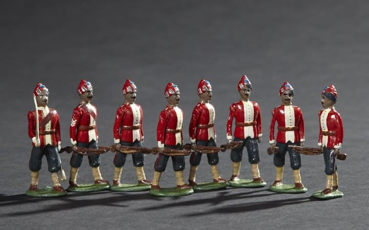 1690: Madras Native Infantry Toy Soldiers