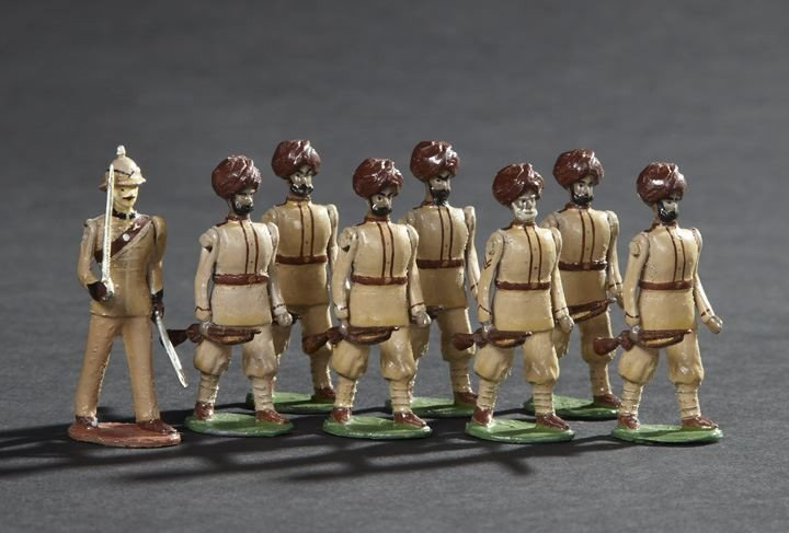1693: Queens Own Corps of Guides Vintage Toy Soldiers