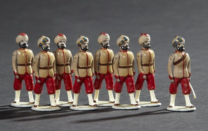 1695: 21st Punjab Infantry Vintage Toy Soldiers