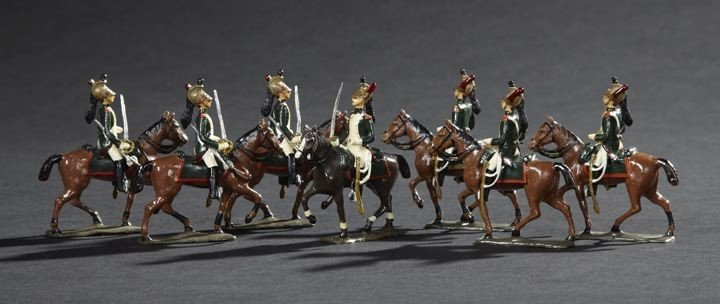 1697: Dragoon of the French Imperial Guard Toy Soldiers