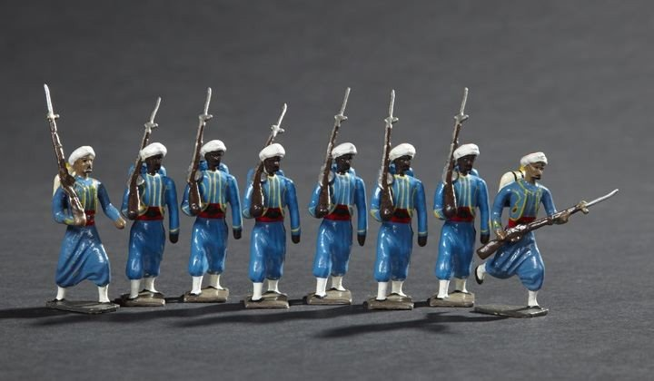 1699: Algerian Turcos of the French Army Toy Soldiers