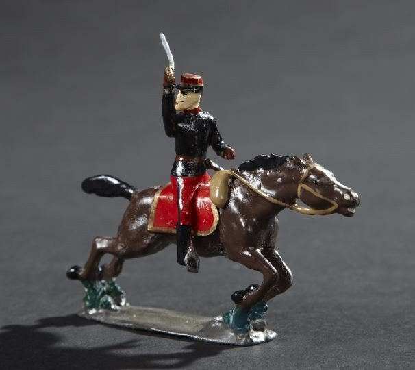 1701: French Officer Lead Toy Soldier