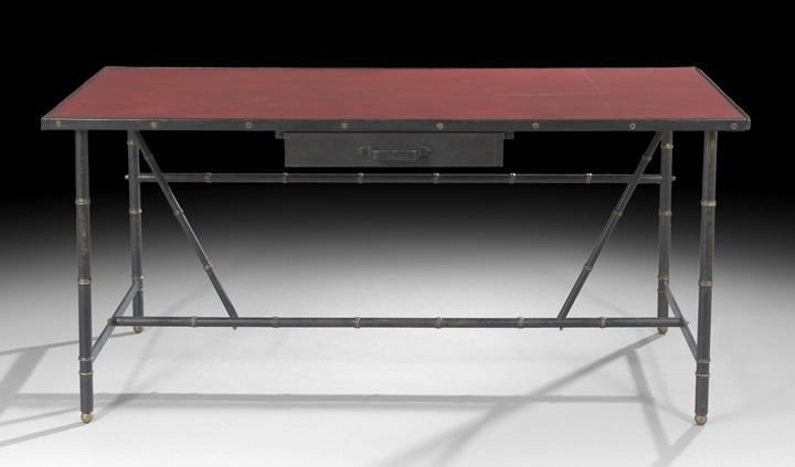 2321: Jacques Adnet (French, 1900-1984) Desk