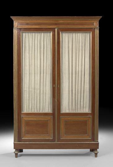 2: Louis XVI-Style Mahogany Cabinet