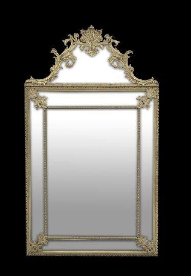 3: Louis XVI-Style Ormolu-Overlaid Looking Glass