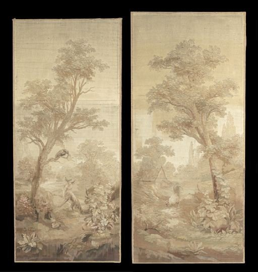 17: Near Pair of French Tapestry Panels