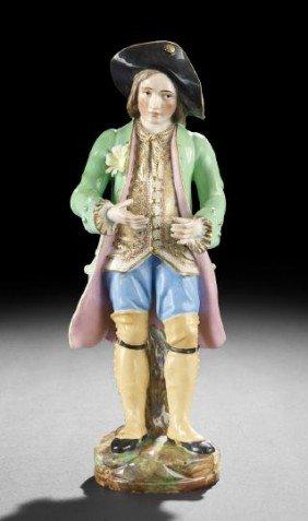 Old Paris Jacob Petit Male Figure