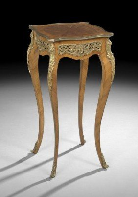 Louis XV-Style Kingwood Occasional Table