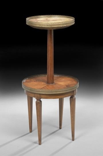 62: Louis XVI-Style Tiered Occasional Table