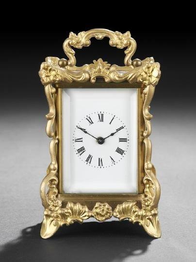 72: Waterbury Rococo Revival Carriage Clock