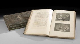 Four Folio Volumes Of The Art Of Florence