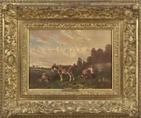 1201: Att. to E. L. A. Seigneurgens (French, 1820-1904)