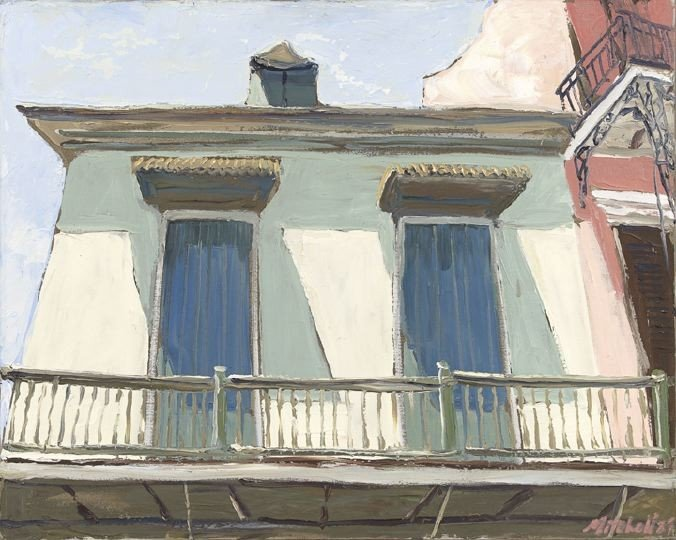 1593: James Michalopoulos (American/Louisiana, b. 1951)
