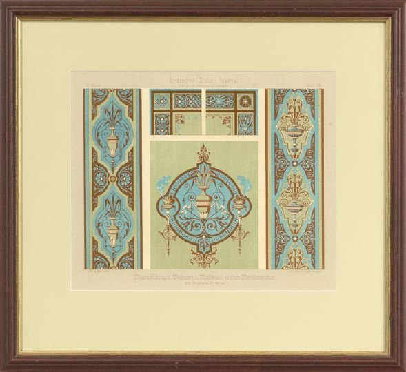 14: Five German Decorative Painting Lithographs - 2