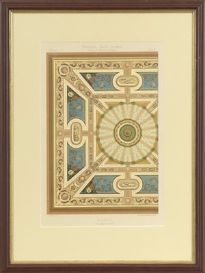 14: Five German Decorative Painting Lithographs - 4
