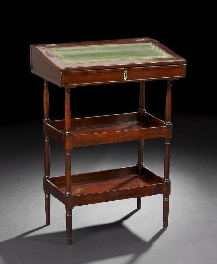 23: Directoire Mahogany Writing Table