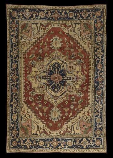 399: Agra Serapi Carpet
