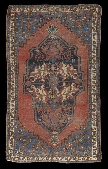 400: Antique Kurd Carpet